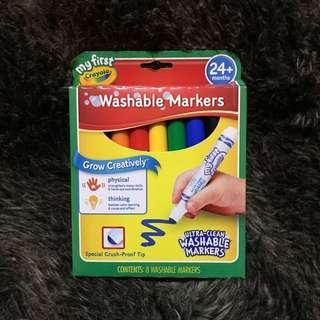 Crayola Washable Markers (8pcs)