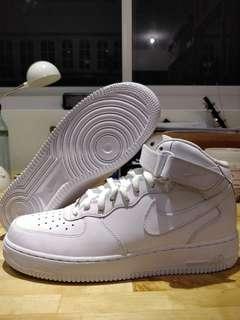 Airforce 1 Mid '07  Triple White #CarousellSneakerFest