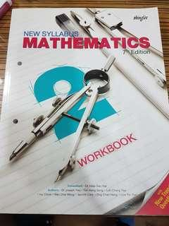 🚚 New Syllabus Secondary Two Mathematics Shinglee Workbook