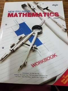 🚚 New Syllabus Secondary One Mathematics Shinglee Workbook