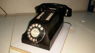 古董攪盤電話火車頭