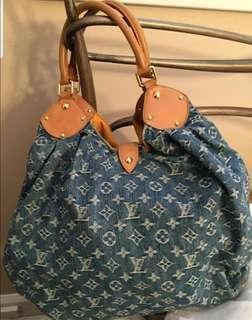 Pre❤ Louis Vuitton Mahina Blue Denim