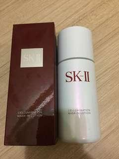 Cellumination mask in lotion