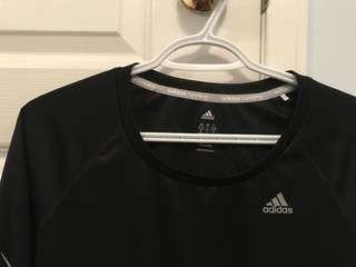Adidas long sleeve athletic top size S