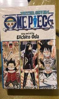 ONE PIECE COMIC BOOK VOLUME 43, 44, 45