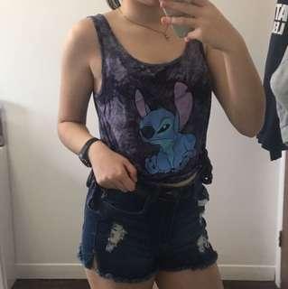 Disney Stitch Crop Top