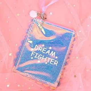 Dream fighter mini pouch / wallet / key chain