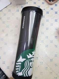 Starbucks Black and Green Plastic Tumbler 591mL