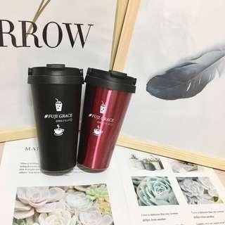 🚚 可手提環保 全新 保溫杯 兩色。黑跟紅下單 請說 顏色