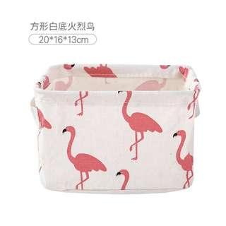 Flamingo Portable basket
