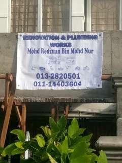 Mohd Redzuan Tukang RUMAH & PLUMBING SERVICE  0132820501