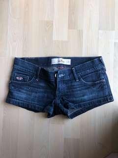 Authentic hollister denim shorts