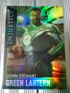 Green Lantern John Stewart HoloFoil Injustice Card