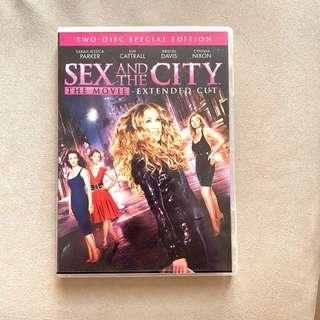 [Free Shipping 包郵] Sex and the City: The Movie Two Disc Special Edition DVD 慾望城市:電影版
