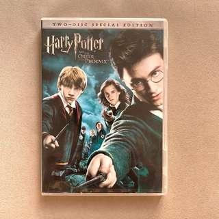 [Free Shipping 包郵] Harry Potter and the Order of the Phoenix Two Disc Special Edition DVD 哈利波特:鳳凰會的密令