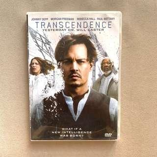 [Free Shipping 包郵] Transcendence DVD 超越潛能