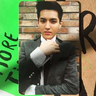 EXO M Growl Official Kris Photocard