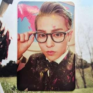 EXO CBX Hey Mama Xiumin Official Photocard