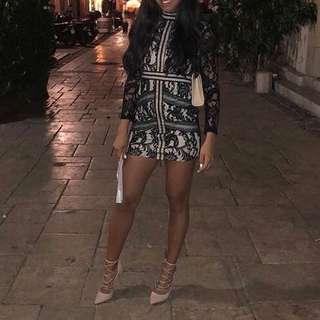 Classy NYE mini dress - xs/sm
