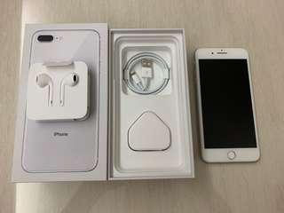 Apple iPhone 8 plus 256GB White 白色