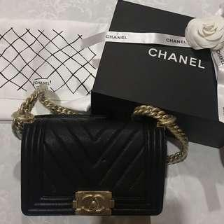 Chanel Boy Gold Hardware