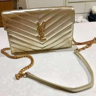 YSL Wallet on Chain Gold
