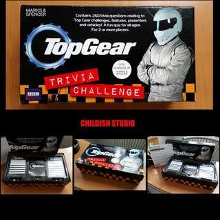 Original TOP GEAR Trivia Challange Quiz Cards Set.