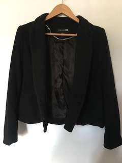 Forever 21 Double Breasted Jacket