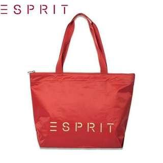 Authentic Esprit Nylon Tote Bag