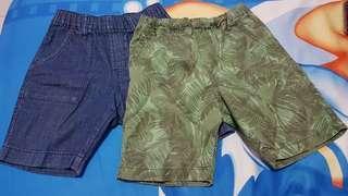 2 pcs Celana Pendek Anak