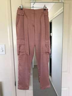 Witchery Rose Gold Cargo Pants
