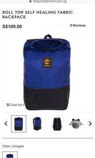 Timberland Roll Top Self Healing Fabric Backpack