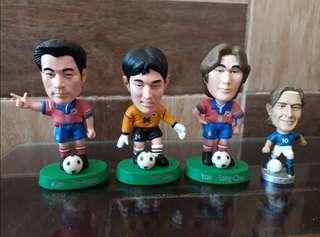 Action Figure Pemain Sepak Bola 4 pcs