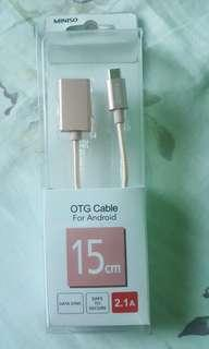 Miniso OTG cable