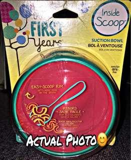 ‼️NEW‼️The First Years Inside Scoop Suction Bowl
