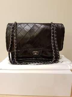 Chanel Glazed Leather Flap Bag