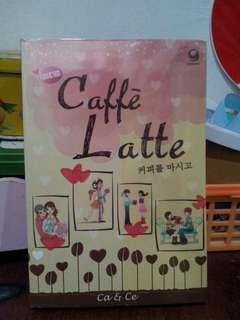 Novel kolpri murah cafe latte ca&ce