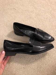 Black Loafers size 9