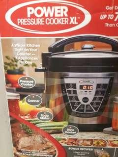 $75OFF Pressure/Slow/Rice Cooker 6 quart