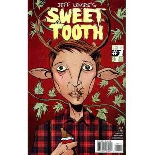 SWEET TOOTH #1 (2009) First issue! Jeff Lemire  Movie Optioned