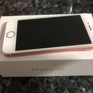 WTS used Apple iPhone SE 16GB Rose Gold