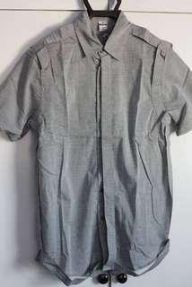 (HOLIDAY SALE) CHAI Grey Bondage Shirt