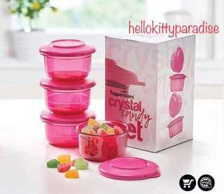 Tupperware Crystal Candy  (4 pieces)