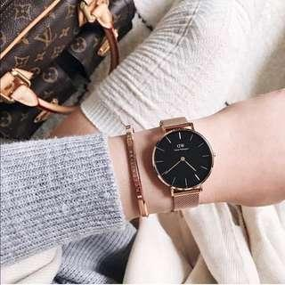 DW Daniel Wellington Rose Gold Cuff 54mm