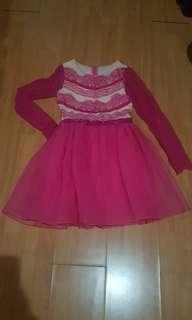 Pink dlparty dress