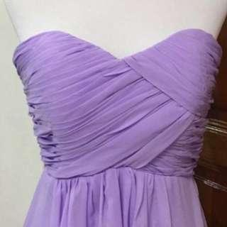Evening Gown, Prom Dress, Bridesmaid Gown In Lavander