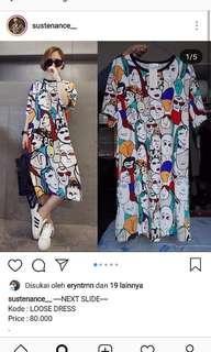 Loose dress pattern