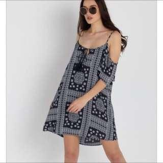 BNWT Eli Cold Boho Dress
