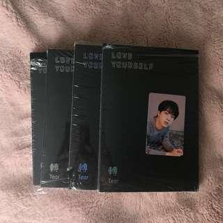 BTS LOVE YOURSELF TEAR all versions & jin PC