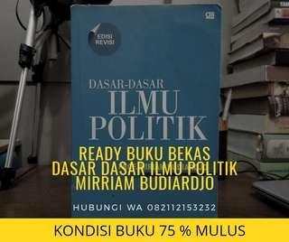 Dasar-dasar Ilmu Politik Mirriam Budiardjo